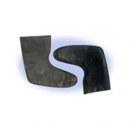 Latex Flat Socks